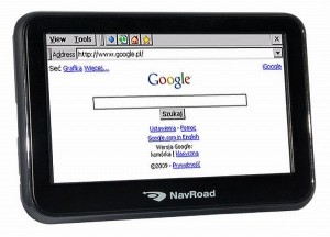 NavRoad NR460BT/NR560BF - Internet Explorer