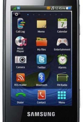 Samsung bada - menu