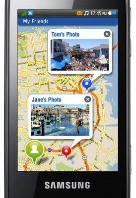 Samsung bada - mapy