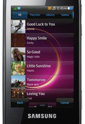 Samsung bada - muzyka